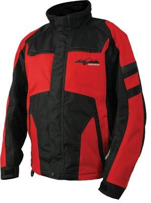 Hmk Voyager Jacket , Distinct Name: Black/Red, Size: Md, Gender: Mens/Unisex, Primary Color: Black Hm7Jvoy2Brm