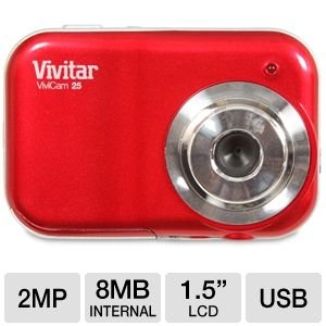 Vivitar 2.1MP Camera (V25-STRAW)