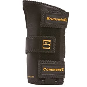 Brunswick Handgelenkstütze, Command X Positioner schwarz schwarz Small/Left Hand