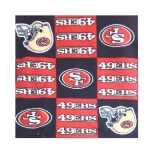 49ers Blanket Fleece front-1043236