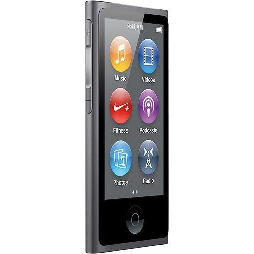 Apple 16GB iPod nano 7th Generation, 2015 Model, Space Gray
