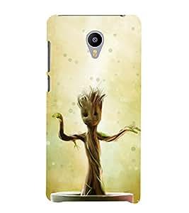 printtech Guardians Sapling Tree Back Case Cover for meizu m2