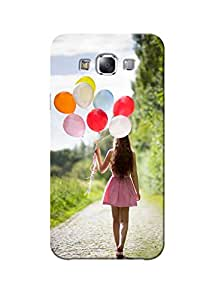 Sowing Happiness Printed Back Cover for Samsung Galaxy E7