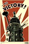Doctor Who Dalek To Victory TV Poster...