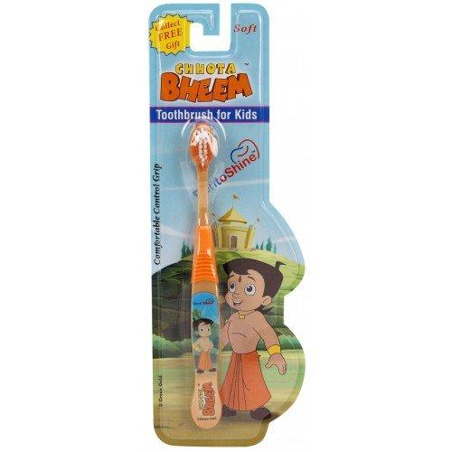 DentoShine Chhota Bheem Toothbrush for Kids Orange