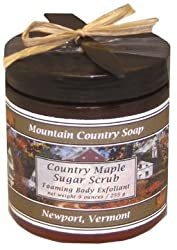 Country Maple Sugar Scrub