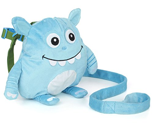 Nuby Monster Backpack Harness, Blue
