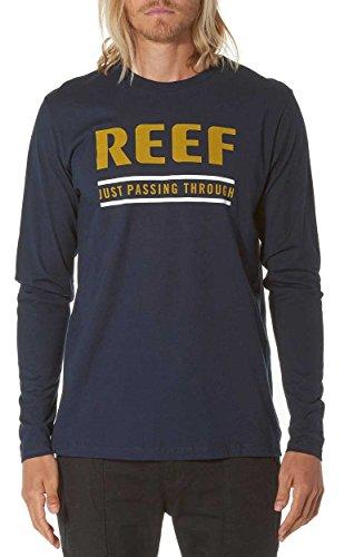 Reef Term LS T-Shirt - Navy - XXL