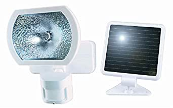 solar motion sensor light wht. Black Bedroom Furniture Sets. Home Design Ideas