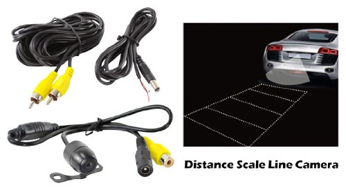Pyle PLCM24IR Universal Mount Infrared Commercial Grade Rear View Backup Camera
