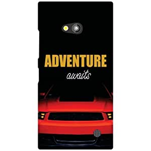 Nokia Lumia 730 Back Cover - Adventure Designer Cases