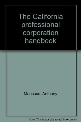NEW Marsh's California Corporation Law by R. Roy Finkle ...