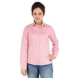 ELLE ET LUI RED Full Sleeve Shirts (Large)