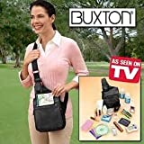 Buxton Leather Over The Shoulder Organizer Bag 38