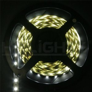 Jackyled 5 Years Warranty Super Bright Epistar Chips Cool White Or Warm White Double Density 600 Leds Flexible Light Strip, 3528 Type Smd, 5 Meter Or 16.4 Ft, 12 Volt, 48 Watt With Dc Connector Other End Will Have Dc Jack Input Ul Listed Dimmable More Bri