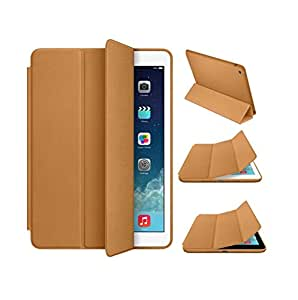 Shop92 New Magnetic Smart Flip Leather Cover Case for iPad mini 1 / 2 / 3 - Gold