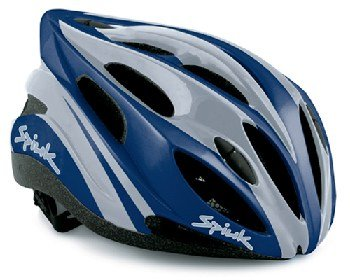 Buy Low Price Spiuk Zirion Bike Helmet – Silver / Marine – Small/Medium (B006V8FA6E)