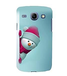 printtech Snowman Christmas Back Case Cover for Samsung Galaxy A3 / Samsung Galaxy A3 A300F
