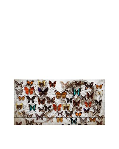 Marmont Hill Butterfly Worlds White Pine Wood Wall Art