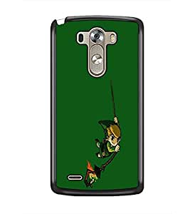 PrintDhaba cartoon D-2455 Back Case Cover for LG G3 (Multi-Coloured)