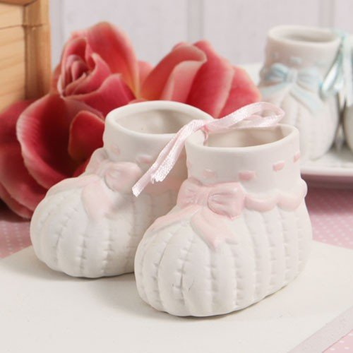24 Baby Shower Baby Booties Pink Favor Party Supplies All Occasion front-1058820