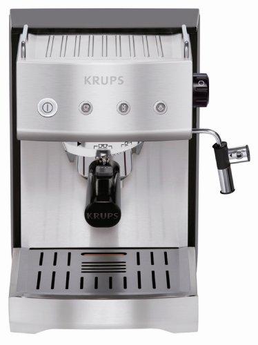 krups xp 5280 espressomaschine schwarz edelstahl test espressomaschinen test. Black Bedroom Furniture Sets. Home Design Ideas