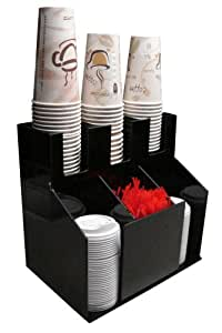 Amazon Com Cup And Lid Holder Dispenser Countertop