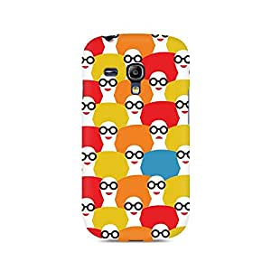 Ebby Afro Chick Premium Printed Case For Samsung S3 Mini 8190