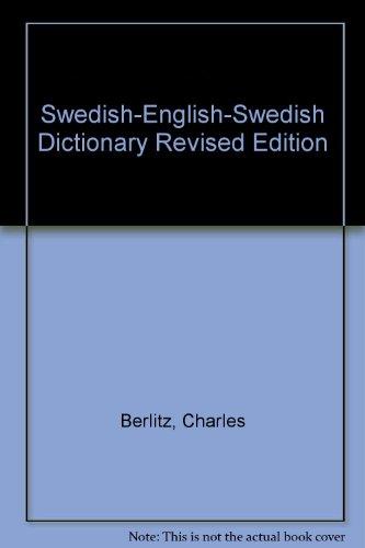 Swedish-English-Swedish Dictionary Revised Edition PDF