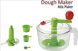 ANKUR Dough Maker & Vegetable Chopper, 7 Piece, White
