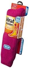 Heat Holders Ladies Extra Long Heat Holders Raspberry US