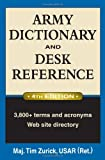 img - for Army Dictionary and Desk Reference (Army Dictionary & Desk Reference) book / textbook / text book