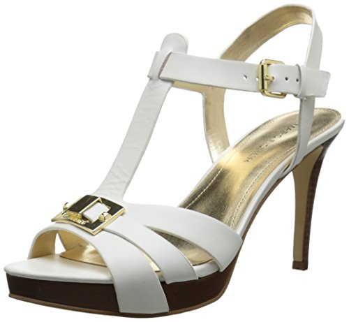 Marc Fisher Women's Varika 2 Platform Sandal, White, 10 M US (Marc Fisher Shoes compare prices)