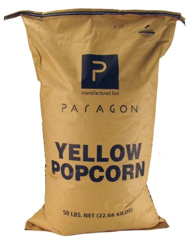 Paragon Bulk Bag Yellow Corn, 50-Pound (Kernel Popcorn Oil compare prices)