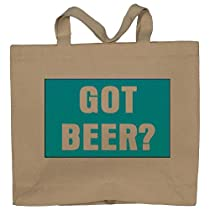 GOT BEER? Totebag (Cotton Tote / Bag)