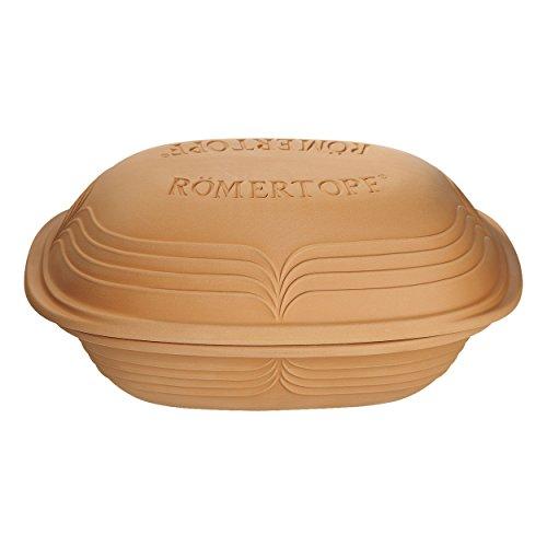 Rmertopf-Cocotte-Modern-Look-Cocotte-en-Cramique-Sauteuse-Cocotte-en-Terre-pour-6-Personnes-Terre-Naturelle-4-L-12005