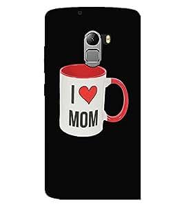 LENOVO K4 NOTE I LOVE MOM Back Cover by PRINTSWAG