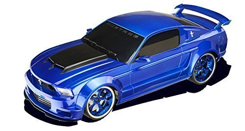 RC Car - Ford Mustang Boss Electric Remote Control Car - 1/18 Scale Model - Blue (Rc 1 10 Trailer Kit compare prices)