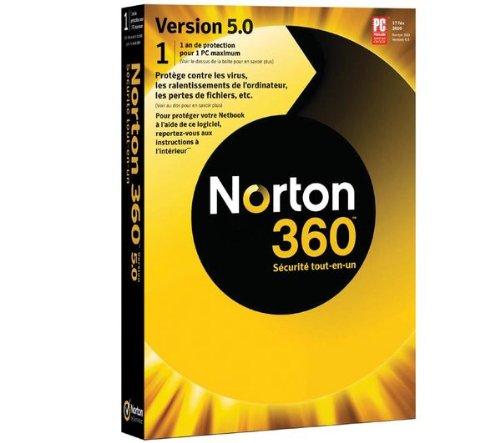 Norton 360 - (version 5.0 ) - ensemble complet