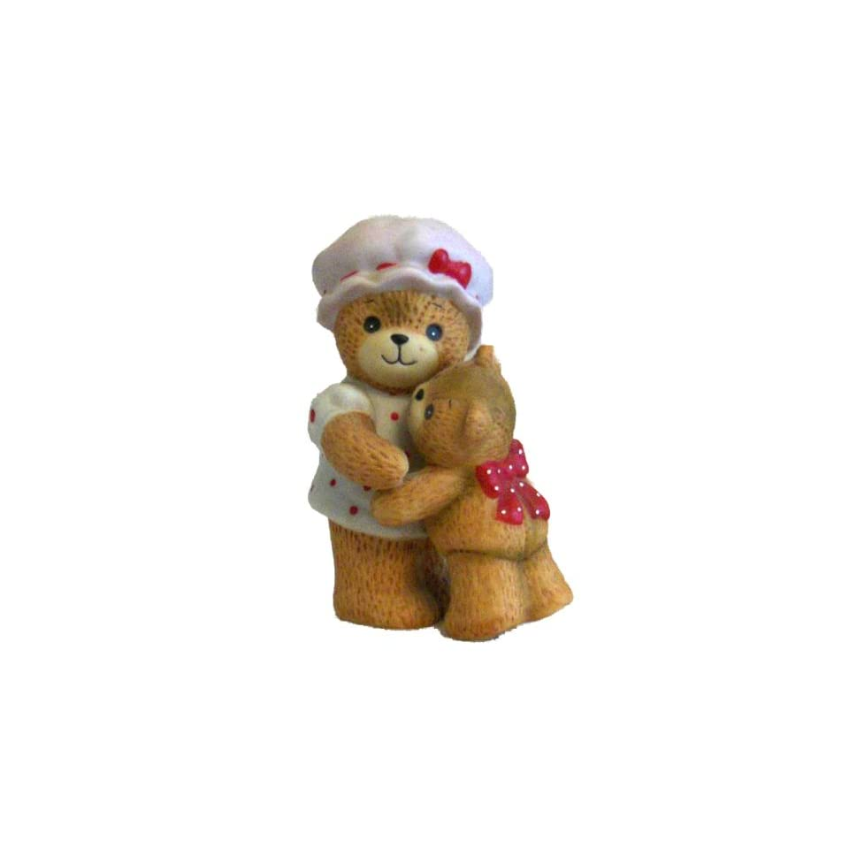 Lucy and Me   Mother Bear Hugging Baby Bear E4733