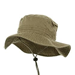 Fishing Hats (02)-Khaki L