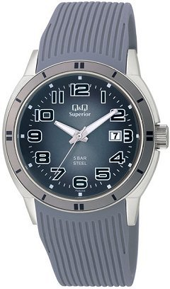 Q&Q Mens All Sport Calendar Wrist Watch