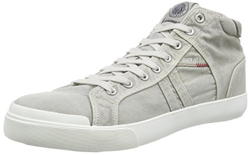 REPLAY Ludlow, Herren Hohe Sneakers, Grau (LT GREY 36), 43 EU thumbnail