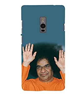 Sathya Sai Baba 3D Hard Polycarbonate Designer Back Case Cover for OnePlus 2 :: OnePlus Two :: One +2