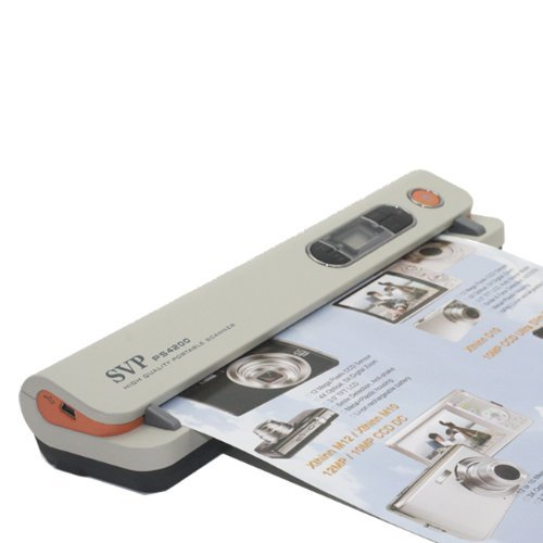 Find Bargain NEW! SVP PS4200 3-in-1 A4 Size Paper/ Photo/ Name Card Scanner
