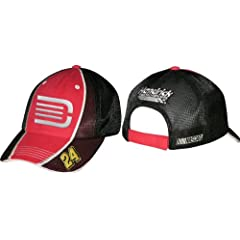NASCAR Jeff Gordon #24 AARP Tri Oval Adjustable Hat by Checkered Flag