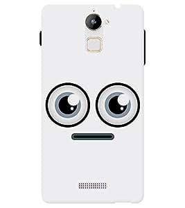 Chiraiyaa Designer Printed Premium Back Cover Case for Coolpad Note 3 Lite (smiley) (Multicolor)