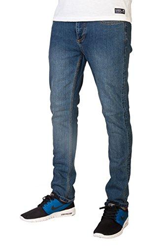 Element Boom Jeans Slim Fit (Medium Stone), Q1PNB2-3421, BluElemBluElem