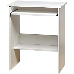 Homestyle Computer Desk White Home Office Furniture Unit Kitch