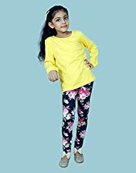 Snoby lovely yellow top full sleeves(SBY761)